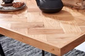 esszimmertisch lodi 80x76x80 cm massivholz akazie metall industrial esstisch massiv klein küchentisch holztisch esszimmer kleiner speisetisch