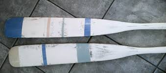 Decorative Wooden Oars And Paddles by Painted Oars Finding Silver Pennies