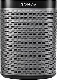 Sonos Ceiling Speakers Amazon by Sonos One Wireless Speaker With Amazon Alexa Voice Assistant Black