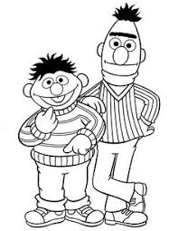 Here We Provide Some Black And White Sesame Street Coloring Pages That Are Ready To Print