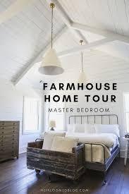 home tour master bedroom heirloomed linen aprons