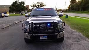 100 Game Warden Truck Ford F150 Police Lights POV YouTube