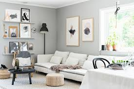 scandinavian style living room in grey buy image