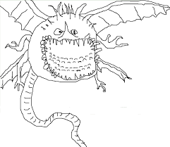 Colouring Templates Dragons Lightning Dragon Coloring Pages