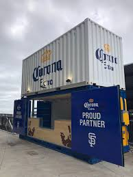 100 Shipping Containers San Francisco Customized Twostory Shipping Container Corona Bar For The