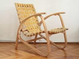 Streamline Vintage Lounge Chair By Jan Vaněk, 1930s