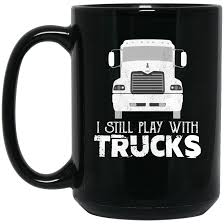 Trucker - Truck Driver Gifts, Coffee Mug | Coffee And Gift Truck Life Is Rough Mug Gift For Truck Driver Funny Set Of 4 Drink Glasses Truckers Cb Radio Life Is Full Of Risks Driver Quotes Gift Basket A Or Boyfriend All The Essentials Trucker Embroidered Toilet Paper Trucker Mug 11oz 15 Oz Doublesided Print My Teacher Was Wrong Shirtalottee Ideas Your Favorite The Perfect For A Royalty Free Cliparts Vectors Key Ring Semi Usa Shirt Gifts Tshirt Women Only Strongest Become