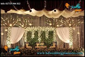 Wedding Reception Stage Decor BD
