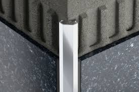 Beveled Tile Inside Corners by Schluter Diadec Edging U0026 Outside Wall Corners For Walls