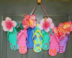 Flip Flop Summer Wreath