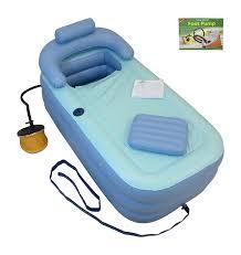 Portable Bathtub For Adults Canada by Amazon Com Inflatable Bath Tub Bathtub Upgraded Pump X