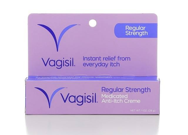 Vagisil Regular Strength Anti-Itch Creme - 1oz