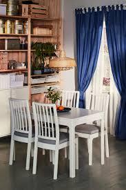 ekedalen tisch und 4 stühle weiß orrsta hellgrau ikea