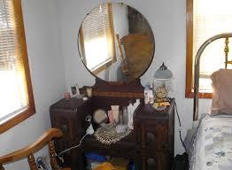 Vintage Tiger Oak Dresser by Mirror Antique Triple Mirror Enrapture Antique Triple Mirror