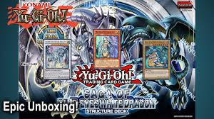 epic yugioh saga of the blue eyes white dragon structure deck