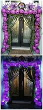 Halloween Inflatable Arch by Plastic Pumpkin Arch Entry Way Plastic Pumpkins Decoration And