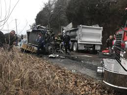 100 Truck Accident Today Updated Both Drivers Hurt When Semi Gravel Truck Collide News