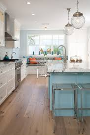 16 Magnificent Kitchen Designs With Blue Island