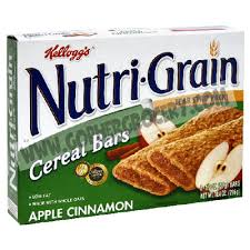 Nutri Grain Breakfast Bars Apple Cinnamon