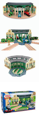 train sets 113519 wooden railway tidmouth sheds buy it now