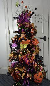 Raz Christmas Trees by Halloween Tree Ornament Set Shelley B Home And Holiday