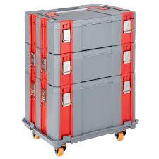 US General 95659 580 Lbs Capacity Four Drawer Tool Cart Board 1