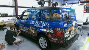 Navarre Press Full Vehicle Wrap By Pensacola Sign In Pensacola ...