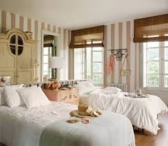 style de chambre adulte chambre à coucher de style shabby chic en 55 idées destiné à le