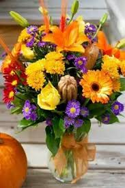 DIY Fall Floral Arrangement Sabellicos I Love The Touches Of Purple