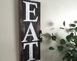 Eat Sign B W