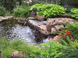 Landscaping Around A Small Pond | Water Features For Your ... Very Small Backyard Pond Surrounded By Stone With Waterfall Plus Fish In A Big Style House Exterior And Interior Care Backyard Ponds Before And After Small Build Great Designs Gardens Design Garden Ponds Home Ideas Fniture Terrific How To Your Images Natural Look Koi Designs Creek And 9 To A For Goldfish