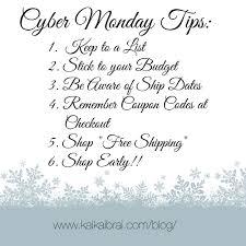 Cyber Monday Tips & Deals – Kai Kai Brai