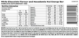 Clif Bar Nutrition Chocolate Chip Peanut Crunch Review