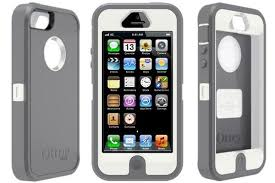OtterBox Defender Series Case for iPhone 5 5s Grey red