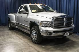 Used 2004 Dodge Ram 3500 Laramie Dually 4x4 Diesel Truck For Sale ...
