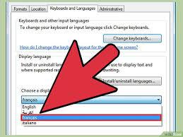 bureau de change en anglais 3 ères de modifier la langue de windows 7 wikihow
