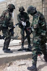 siege army soldiers of the 1st infantry battalion senegal army siege an