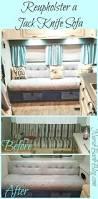 Rv Jackknife Sofa Sheets by Glamper Reupholstering Your Jack Knife Sofa Complete