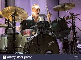 Smashing Pumpkins Chicago by Chicago Illinois Usa 7th Aug 2015 Drummer Jimmy Chamberlin Of