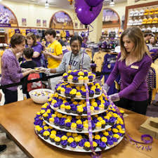 Love Purple Live Gold at the New LSU Superstore Next