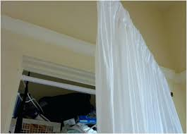 Decorative Curtain Ideas Dormer Window Rods Elegant Extra Long Rod Design