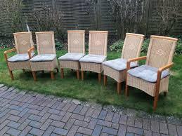 esszimmer stühle moderne korbsessel 6 x