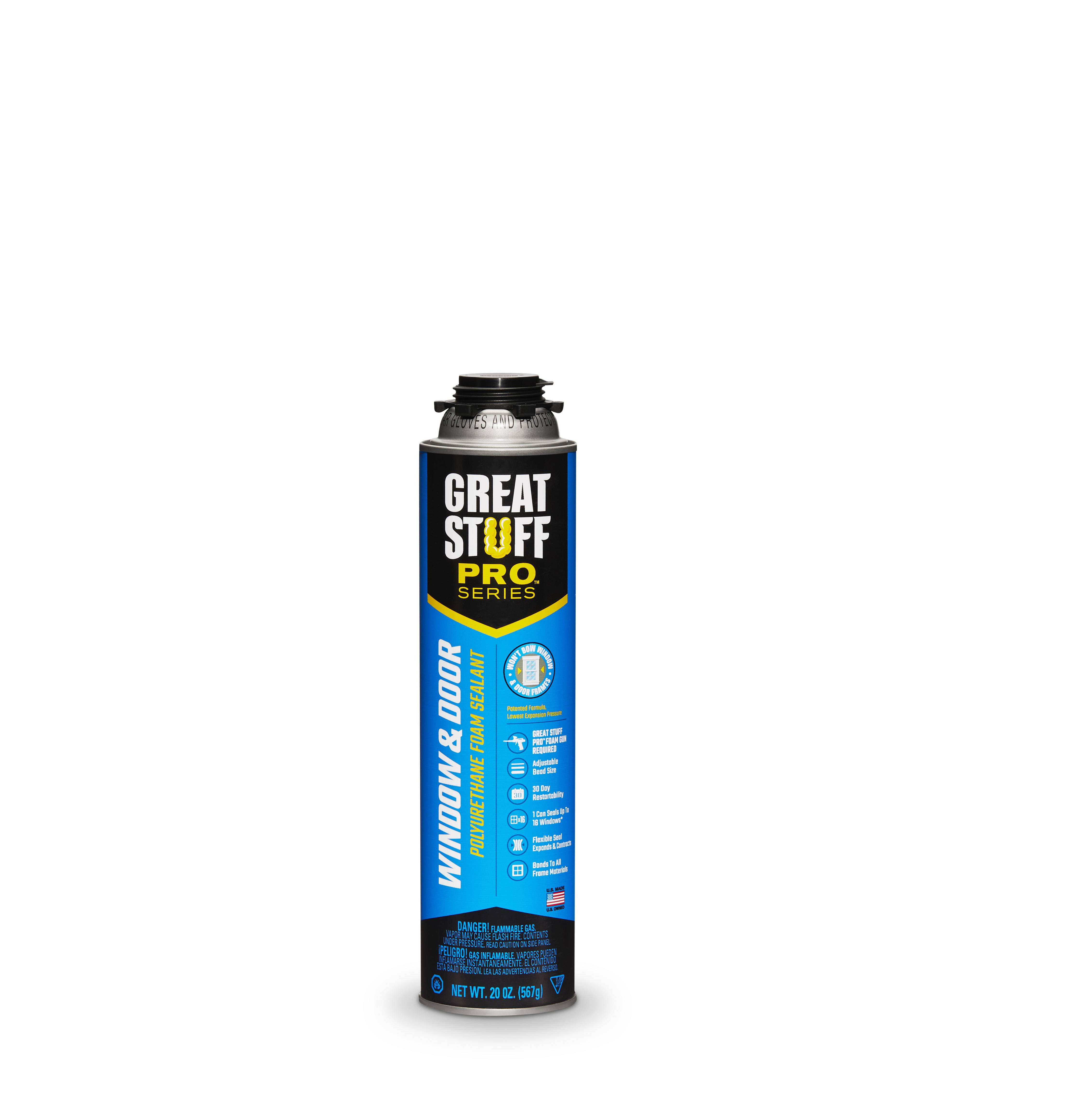 Dow Great Stuff Pro Gun Window & Door Insulating Foam Sealant