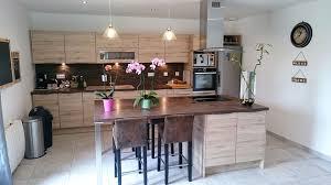 cuisiniste vernon cuisine équipée ton bois à émanville 76570 cuisine home concept