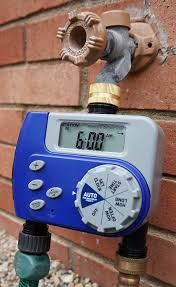 Hose Bib Timer Home Depot by Amazon Com Orbit Dual Valve Digital Watering Hose Timer Water
