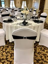 Black & White Damask Runner With White Tablecloths, White ... Black White Damask Runner With Tablecloths White Stretch Scuba Folding Wedding Chair Cover Party Supplies Champagne Satin Sashes On Ivory Spandex Covers In The Trimmings Seventh Heaven 57 Lifetime Whosale Polyester Event Chaircoverfactory 100pcs Universal For Supply Banquet Decoration Us Stock Ivory Chair Covers Esraldaxtreme Charcoal Grey Lavender Royal Blue