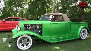 Custom 1932 Ford Convertible Pickup Truck 2015 Cruise In For Kids ...