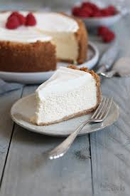 american cheesecake mit schmand topping