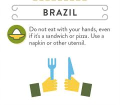 Infographic Business And Dining Etiquette Around The World