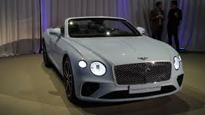 100 New Bentley Truck 2019 Continental GT Convertible Debuts With 207MPH Top End